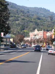 Main Street in Los Gatos, California