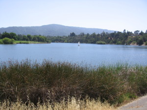 Lake Vasona County Park in Los Gatos