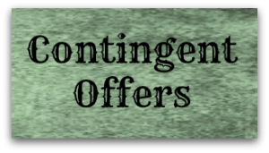 Contingent offers