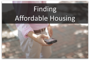 Finding Affordable Housing