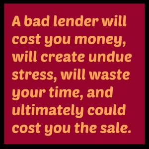A bad lender