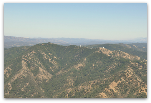 Mount Hamilton - the Lick Observatory