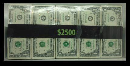 $2500 money block