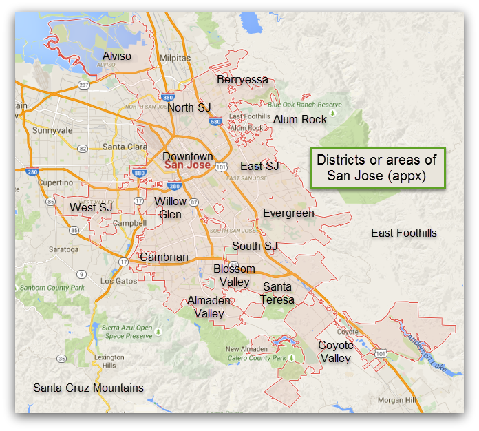 Cupertino Italy Map.Almaden Valley Archives Move2siliconvalley Com