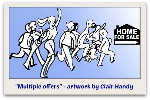 Multiple offers - artwork by Clair Handy