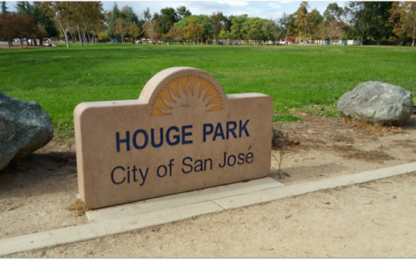 Photo of Hogue Park in San Jose, which is in the Cambrian district