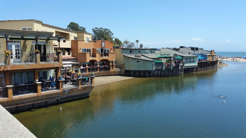 Capitola from the bridge Small - Slideshow of Silicon Valley neighborhoods