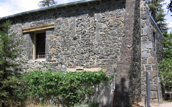 Photo of the historic Forbes Mill annex, the first business in Los Gatos