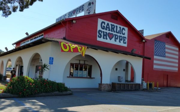 The Gilroy Garlic Shoppe in Gilroy CA
