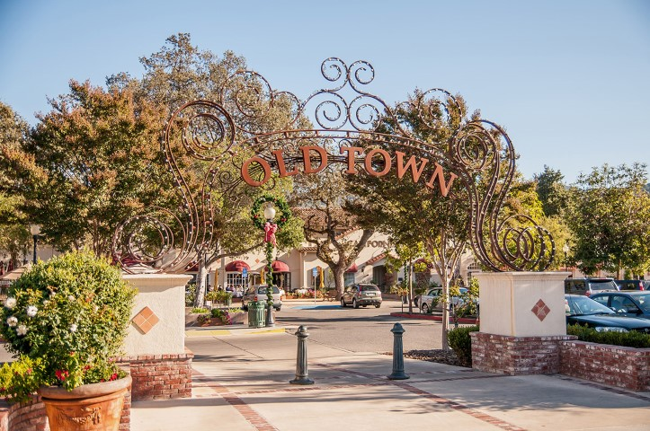Los Gatos Old Town Small - Slideshow of Silicon Valley neighborhoods