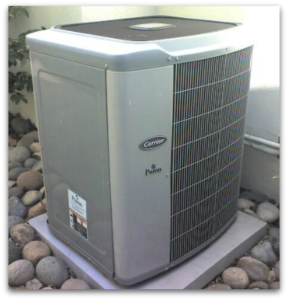 Air conditioning condenser unit newer