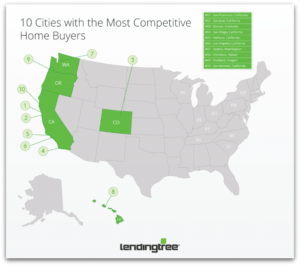 10 Cities with the Most Competitive Home Buyers 1024x904 300x266 - LendingTree Ranks Bay Area Cities as the Top Two Most Competitive Housing Markets!